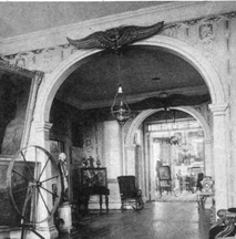 Hallway of the Morris-Jumel Mansion, ca. 1887,