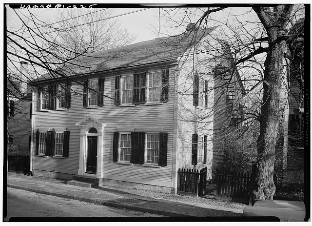 Exterior of the William L. Brown House in Providence, Rhode Island.
