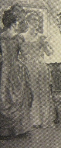 Detail of Susannah Morris Robinson, from a painting by John Ward Dunsmore.