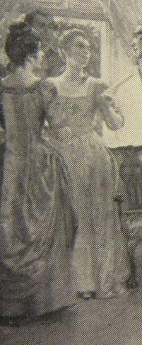 Detail of Susannah Morris Robinson, from a painting by John Ward Dunsmore.